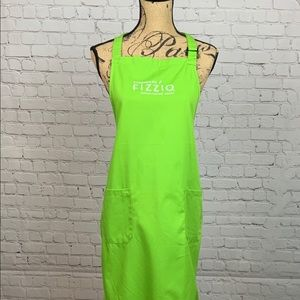 RARE Starbucks Fizzio Lime Green Apron